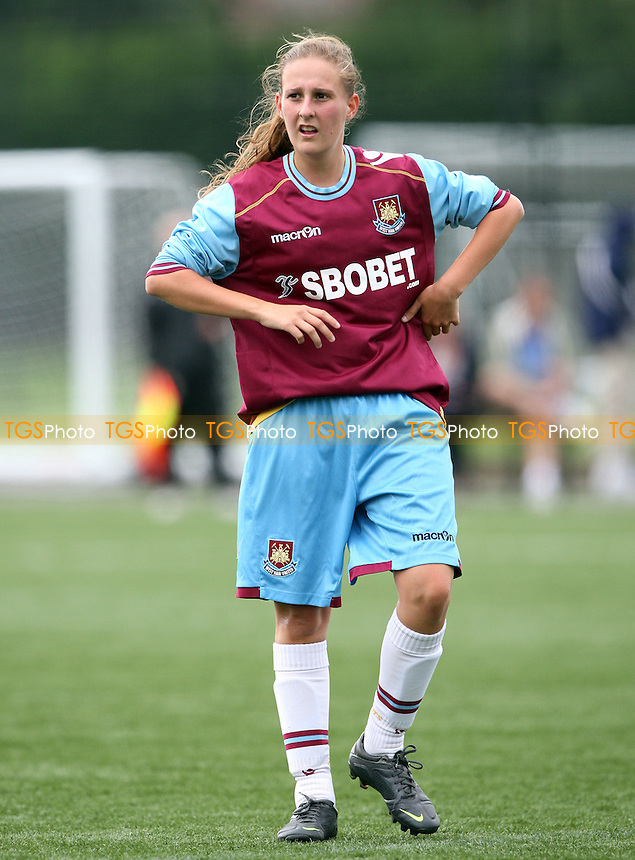 - West Ham United Ladies vs Enfield Town Ladies, Pre-season Friendly at Chadwell Heath - 15/07/12 - MANDATORY CREDIT: Rob Newell/TGSPHOTO - Self billing applies where appropriate - 0845 094 6026 - contact@tgsphoto.co.uk - NO UNPAID USE.