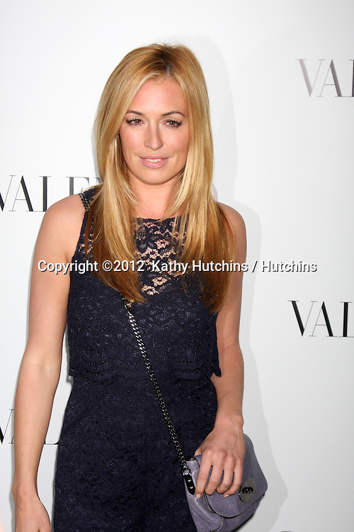 LOS ANGELES - MAR 27:  Cat Deeley Valentino Beverly Hills Opening at the Valentino Store on March 27, 2012 in Beverly Hills, CA