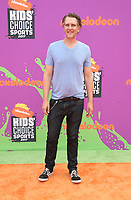 LOS ANGELES, CA July 13- Jeffrey Nicholas Brown, At Nickelodeon Kids' Choice Sports Awards 2017 at The Pauley Pavilion, California on July 13, 2017. Credit: Faye Sadou/MediaPunch