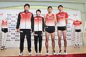 (L to R) Yukifumi Murakami, Chisato Fukushima, Yuzo Kanemaru, Shinji Takahira (JPN), ..JULY 11, 2011 - Athletics :The 19th Asian Athletics Championships Hyogo/Kobe, Press conference of the Japan national team to dispatch the 13th IAAF World Athletics Championships at Kobe Tokyu Inn Hotel, Hyogo ,Japan. (Photo by Akihiro Sugimoto/AFLO SPORT) [1080]..