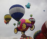 Festivlal del globo en  leon Guanajuato,16nov2013.<br /> FOTO:TiradorTercero/NortePhoto.com