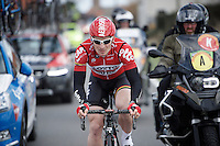 Andr&eacute; Greipel (DEU/Lotto-Soudal) coming back to the bunch<br /> <br /> 78th Gent - Wevelgem in Flanders Fields (1.UWT)