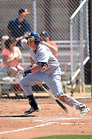 Detroit Tigers infielder Dominic Ficociello (29) during a minor league spring training game against the Houston Astros on March 21, 2014 at Osceola County Complex in Kissimmee, Florida.  (Mike Janes/Four Seam Images)