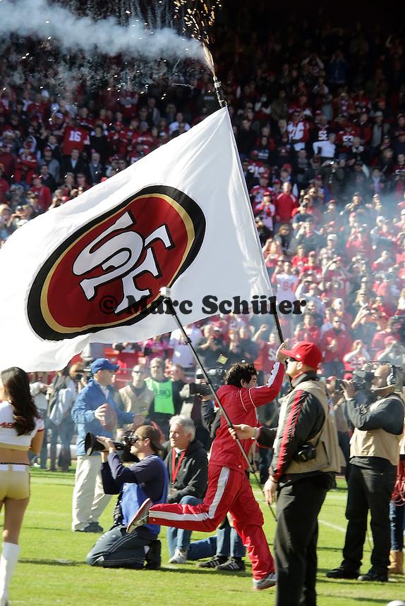 Fahne der 49ers