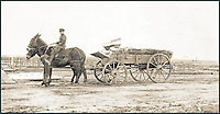 BNPS.co.uk (01202 558833)<br /> Pic: Pen&amp;Sword/BNPS<br /> <br /> Bodies arriving at a cemetery by GS wagon for reburial.<br /> <br /> A poignant collection of images which were taken by a photographer who documented the graves of fallen soldiers on the Western Front have come to light in a new book.<br /> <br /> Ivan Bawtree was one of only three professional photographers assigned to the the Graves Registration Units to photograph and record the graves of fallen First World War soldiers on behalf of grieving relatives. <br /> <br /> His powerful photos of northern France and Flanders are a haunting reminder of the horrors of war and a fascinating insight into the early work of the Imperial War Graves Commission. <br /> <br /> Prior to the First World War, the casualties of war were generally buried in unmarked mass graves.