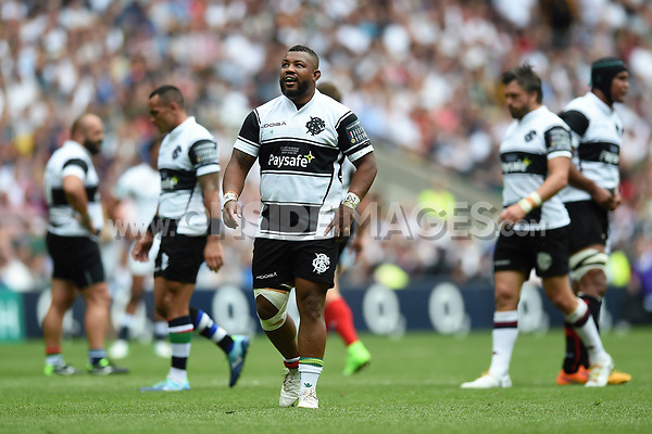 Steffon Armitage of the Barbarians looks on. Old Mutual Wealth Cup International match between England and the Barbarians on May 28, 2017 at Twickenham Stadium in London, England. Photo by: Patrick Khachfe / Onside Images