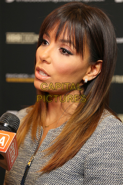 10 March 2014 - Los Angeles, California - Eva Longoria. &quot;Paycheck To Paycheck: The Life and Times of Katrina Gilbert&quot; presented by HBO Documentary Films and Maria Shriver held at the Linwood Dunn Theatre. <br /> CAP/ADM/FS<br /> &copy;Faye Sadou/AdMedia/Capital Pictures