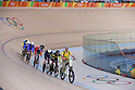 General view, <br /> AUGUST 16, 2016 - Cycling : <br /> Men's Keirin Semi-Final<br /> at Rio Olympic Velodrome <br /> during the Rio 2016 Olympic Games in Rio de Janeiro, Brazil. <br /> (Photo by Sho Tamura/AFLO SPORT)
