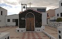 Tiny chapel in village in El Hierro.Canary islands, El Hierro, Spain.