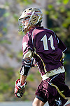 Los Angeles, CA 03/08/10 - Jon Yates (FSU # 11) in action during the Florida State-LMU MCLA interconference men's lacrosse game at Leavey Field (LMU).  Florida State defeated LMU 12-7.