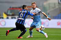 Jose Palomino of Atalanta and Ciro Immobile of Lazio compete for the ball <br /> Roma 5-5-2019 Stadio Olimpico Football Serie A 2018/2019 SS Lazio - Atalanta <br /> Foto Andrea Staccioli / Insidefoto