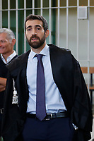 Giovanni Musaro', the prosecutor, PM in the Cucchi's case<br /> Rome October 29th 2019. Process 'Cucchi bis'. Stefano Cucchi, a 30 years old man, was arrested on October 15 2009 for drug possession, and after being convicted in Regina Coeli jail for few days, he was transferred to Sandro Pertini hospital, where he died on October 22 2009 due to be strongly beaten. On his body were found many signs of abuse and violence. The defendants are 5 carabineers. <br /> Foto  Samantha Zucchi Insidefoto