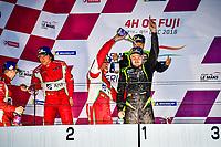 #11 CAR GUY (JPN) FERRARI 488 GT3 GT TAKESHI KIMURA (JPN) KEI COZZOLINO (JPN) JAMES CALADO (GBR) WINNER GT<br /> #51 SPIRIT OF RACE (SUI) FERRARI 488 GT3 GT ALESSANDRO PIER GUIDI (ITA) OSWALDO NEGRI JR (USA) FRANCESCO PIOVANETTI (USA) SECOND GT