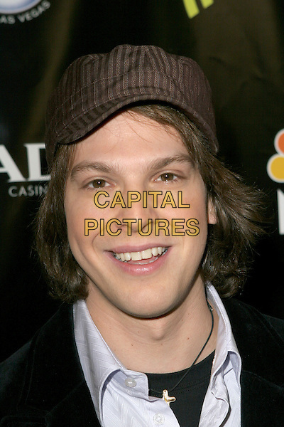 GAVIN DeGRAW.2005 Radio Music Awards - Arrivals held at the Aladdin Hotel, Las Vegas, Nevada..December 19th, 2005.Photo: Zach Lipp/AdMedia/Capital Pictures.Ref: ZL/ADM.headshot portrait hat.www.capitalpictures.com.sales@capitalpictures.com.© Capital Pictures.