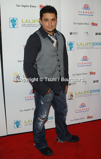Jesse Garcia  - <br /> Los Angeles Latino International Film Festival at the Chinese Theatre In Los Angeles.<br /> <br /> full length<br /> eye contact
