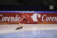SCHAATSEN: HEERENVEEN: IJsstadion Thialf, 31-10-2012, Perspresentatie Team Corendon, Training, Rienk Nauta, ©foto Martin de Jong