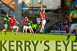 Kieran Donaghy Kerry in action against Eoin Cadogan Cork in the National Football League at Pairc Ui Rinn, Cork on Sunday.