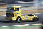 Spanish driver Enrique Alberto Mila Monteserin belonging Spanish team Enrique Alberto Mila Monteserin during the third race R3 of the XXX Spain GP Camion of the FIA European Truck Racing Championship 2016 in Madrid. October 02, 2016. (ALTERPHOTOS/Rodrigo Jimenez)
