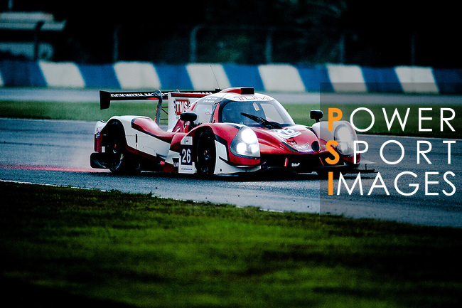 Tockwith Motorsports, #26 Ligier JSP3, driven by Nigel Moore and Phil Hanson in action during Asian LMS Qualifying (LMP2, LMP3, CN) of the 2016-2017 Asian Le Mans Series Round 1 at Zhuhai Circuit on 29 October 2016, Zhuhai, China.  Photo by Marcio Machado / Power Sport Images