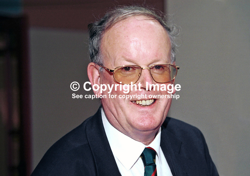 Sir Sydney Chapman, Conservative MP, Britain, UK. Taken at Conservative Party Conference, Blackpool. Ref: 199910241..Copyright Image from Victor Patterson, 54 Dorchester Park, Belfast, UK, BT9 6RJ..Tel: +44 28 9066 1296.Mob: +44 7802 353836.Voicemail +44 20 8816 7153.Skype: victorpattersonbelfast.Email: victorpatterson@mac.com.Email: victorpatterson@ireland.com (back-up)..IMPORTANT: If you wish to use this image or any other of my images please go to www.victorpatterson.com and click on the Terms & Conditions. Then contact me by email or phone with the reference number(s) of the image(s) concerned.