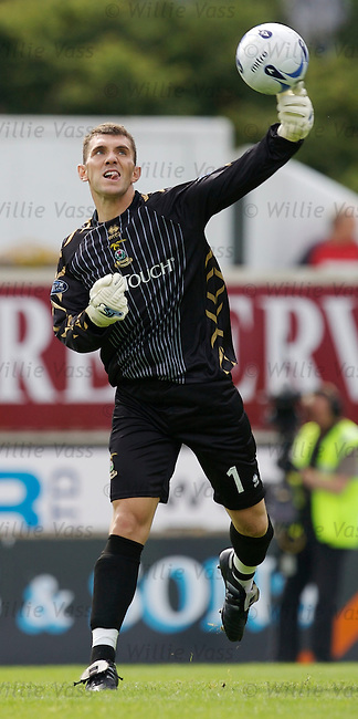 Mark Brown, Inverness Caledonian Thistle.stock season 2006-2007.pic willie vass