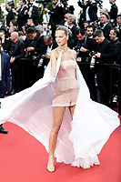 """CANNES - MAY 15:  Nadine Leopold  arrives to the premiere of """" LES MISÉRABLES """" during the 2019 Cannes Film Festival on May 15, 2019 at Palais des Festivals in Cannes, France.      <br /> CAP/MPI/IS/LB<br /> ©LB/IS/MPI/Capital Pictures"""