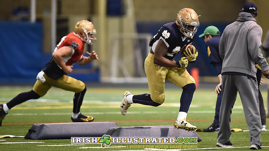 Running back Dexter Williams (2)