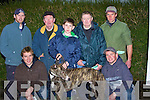 TRAVELLED: Travelled all the way from Dingle to enter their greyhound Gallerus Ristem in the Listowel Coursing in Abbeydorney on Saturday l-r: Robert Brosnan, Patrick and Billy O'Sullivan, Darragh Brosnan, John O'Sullivan and Paudie Moran (Dingle)............................ ..............................   Copyright Kerry's Eye 2008