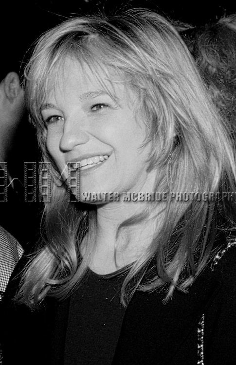 Ellen Barkin .at the Opening Night Party for SIX DEGREES OF SEPARATION at Lincoln Center, New York City..May 19, 1990..© Walter McBride / .