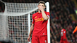 James Milner of Liverpool reacts during the Premier League match at Anfield Stadium, Liverpool. Picture date: December 11th, 2016.Photo credit should read: Lynne Cameron/Sportimage