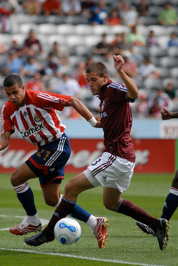 MLS 2007 - Chivas USA v Colorado Rapids.