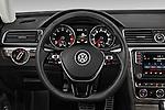 Car pictures of steering wheel view of a 2016 Volkswagen Passat 3.6L-SEL-Premium-Auto 4 Door Sedan Steering Wheel