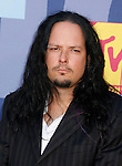 LOS ANGELES, CA. - September 07: Musician Jonathan Davis of Korn arrives at the 2008 MTV Video Music Awards at Paramount Pictures Studios on September 7, 2008 in Los Angeles, California.