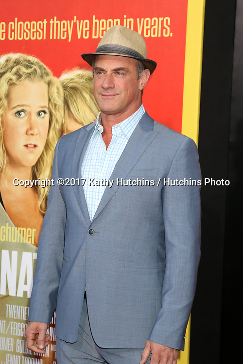 """LOS ANGELES - MAY 10:  Christopher Meloni at the """"Snatched"""" World Premiere at the Village Theater on May 10, 2017 in Westwood, CA"""