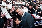 premiere. divergente. cines. callao. madrid 03/04/2014.<br /> Theo James