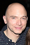 Michael Cerveris.attending the Broadway Opening Night Actors' Equity Gypsy Robe Ceremony for recipient Matt Wall in 'EVITA' at the Marquis Theatre in New York City on 4/6/2012