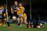 Wasps' Will Porter in action during todays match<br /> <br /> Photographer Bob Bradford/CameraSport<br /> <br /> Gallagher Premiership - Exeter Chiefs v Wasps - Saturday 30th November 2019 - Sandy Park - Exeter<br /> <br /> World Copyright © 2019 CameraSport. All rights reserved. 43 Linden Ave. Countesthorpe. Leicester. England. LE8 5PG - Tel: +44 (0) 116 277 4147 - admin@camerasport.com - www.camerasport.com