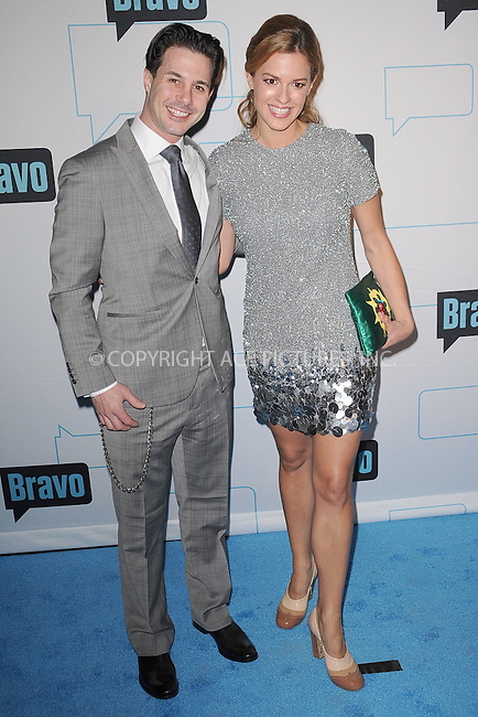 WWW.ACEPIXS.COM . . . . . .March 30, 2011...New York City...Johnny Iuzzini and Dannielle Kyrillos attends the 2011 Bravo Upfront at 82 Mercer  on  March 30, 2011 in New York City....Please byline: KRISTIN CALLAHAN - ACEPIXS.COM.. . . . . . ..Ace Pictures, Inc: ..tel: (212) 243 8787 or (646) 769 0430..e-mail: info@acepixs.com..web: http://www.acepixs.com .