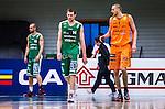 S&ouml;dert&auml;lje 2014-04-26 Basket SM-final S&ouml;dert&auml;lje Kings - Norrk&ouml;ping Dolphins :  <br /> S&ouml;dert&auml;lje Kings Mantas Griskenas deppar<br /> (Foto: Kenta J&ouml;nsson) Nyckelord:  S&ouml;dert&auml;lje Kings SBBK Norrk&ouml;ping Dolphins SM-final Final T&auml;ljehallen depp besviken besvikelse sorg ledsen deppig nedst&auml;md uppgiven sad disappointment disappointed dejected