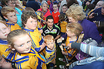 Clare Hurling fan Liam Murphy pictured at  the Open Training Night on Tuesday. Pic. Brian Arthur/ Press 22.