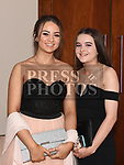 Ornagh Dalton Bird and Saoirse McLaughlin at A Night At The Oskars in City North hotel. Photo:Colin Bell/pressphotos.ie