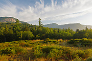 Table Mountain from along the Kancamagus Highway (Route 112), which is one of New England's scenic byways in the White Mountains, New Hampshire.