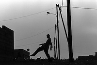 Pix:Michael Steele/SWpix...Soccer.African street football, Senegal, 1992...COPYRIGHT PICTURE>>SIMON WILKINSON..African street Football.