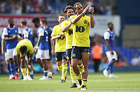 Blackburn Rovers' Elliott Bennett applauds the crowd at the end of todays match<br /> <br /> <br /> Photographer Rachel Holborn/CameraSport<br /> <br /> The EFL Sky Bet Championship - Ipswich Town v Blackburn Rovers - Saturday 4th August 2018 - Portman Road - Ipswich<br /> <br /> World Copyright &copy; 2018 CameraSport. All rights reserved. 43 Linden Ave. Countesthorpe. Leicester. England. LE8 5PG - Tel: +44 (0) 116 277 4147 - admin@camerasport.com - www.camerasport.com