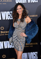 Sofia Milos at the premiere of &quot;John Wick Chapter Two&quot; at the Arclight Theatre, Hollywood. <br /> Los Angeles, USA 30th January  2017<br /> Picture: Paul Smith/Featureflash/SilverHub 0208 004 5359 sales@silverhubmedia.com