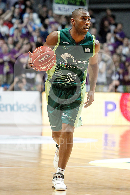 Unicaja's Jayson Granger during Liga Endesa ACB Semifinal match.June 6,2014. (ALTERPHOTOS/Acero)