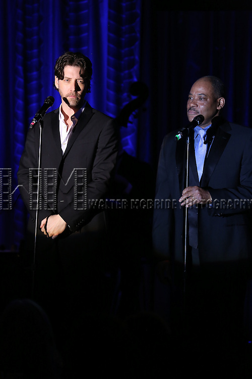 James Barbour performs during the Drama League's 30th Annual 'Musical Celebration of Broadway' honoring Neil Patrick Harris at the Pierre Hotel on February 3, 2014 in New York City.
