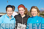 Staying fit at the Puck Warriors Duathlon in Killorglin on Saturday was l-r: Elaine Gradfield Killorglin, Roisin Duffy Killorglin and Fiona O'Donoghue Glenflesk
