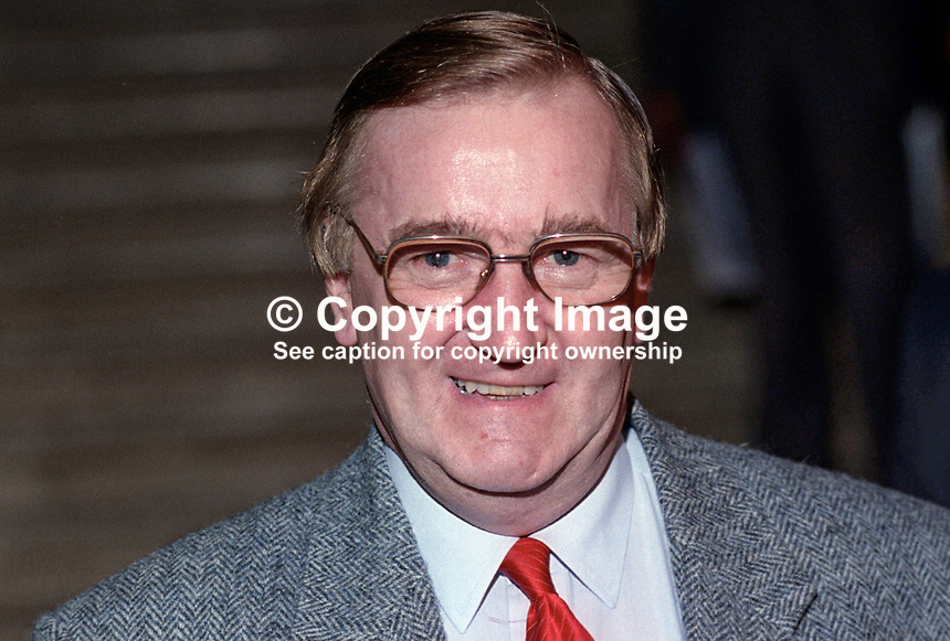 Ted Knight, leader, Lambeth Council, London, UK, attendee, annual conference, UK Labour Party, 199309304.<br />