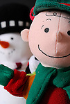 Charlie Brown and Snowman.